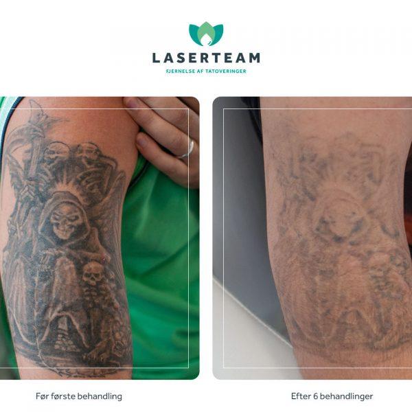 Tattoo: Døden på skulder